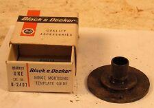 "BLACK & DECKER 1/2"" TEMPLATE GUIDE - CATALOG #U-2407"