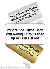 Printed Personalised  Self Adhesive Business Return Address Product Labels