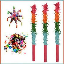 Kids Pinata Buster Hitting Stick Birthday Party Fun Play Outdoor Games Posada 1