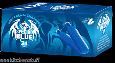 96 Whipped Cream Chargers Special BLUE European N2O whip it N20 Nitrous 4 x JK24