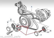 OEM V-RIBBED DRIVE BELT+TENSIONER+IDLER KIT BMW 3 E90 E91 318 320 330 E87 118 d