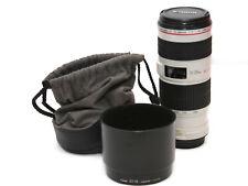 70-200mm f/4 Canon EF L LENTE USM IS ** 5533 **