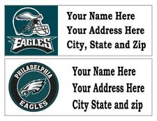 60 PHILADELPHIA EAGLES RETURN ADDRESS LABELS MANY CHOICES