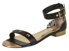 Ted Baker Women's Ovey Black Studded Sandals Shoes