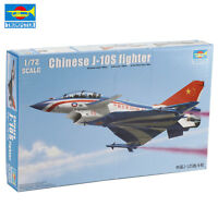Trumpeter 01644 1/72 Scale Chinese J-10S Fighter Model Kit