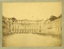 Sirot. France, St. Cloud, Le Château  France. Vintage albumen print.  Tirage a