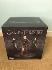 """GAME OF THRONES BRIENNE OF TARTH DELUXE 14"""" Statue Rare NITB Brand New limited"""
