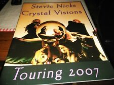 Stevie Nick's Crystal Visions tour Book 2007