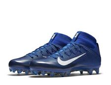 Nike Vapor Untouchable 2 Football Cleat Blue Carbon Fiber 824470-414 Men's Sz 13