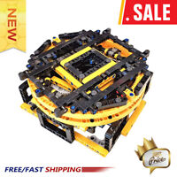 Technic MOC Technical Motorised Display Turntable MOC-22252 Building Blocks Toys