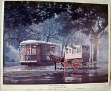 Limited Ed Print Roman Candy Wagon From an original painting by James Hussey