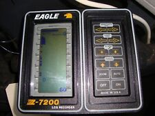 Bench Tested Eagle Z-7200 fish finder Lcd displayw/mounting bracket & instructi