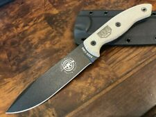 ESEE Knives CM6 Black Blade Micarta Handel Kydex Sheath ESEE-CM-6