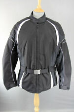 Frank Thomas Back Motorcycle Jackets with Quilted Lining