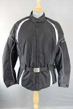 Frank Thomas Back Motorcycle Jackets with Removable Armour