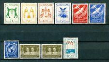 Suriname jaargangen 1955 - 1956 ongebruikt