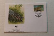 PALAU - 1987 WWF Estuarine crocodile FDC