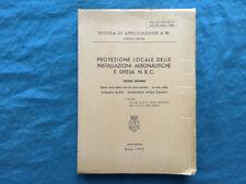 Protezione locale delle installazioni aeronautiche e difesa N.B.C. 1973