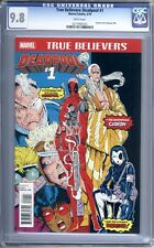 True Believers: Deadpool #1  Reprints New Mutants #98 (1st Deadpool)  CGC 9.8