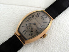 Pavel Bure Russia Empire 1903-1904 Antique Swiss 14k Gold Men's Watch SERVICED