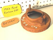 Dec 1962 Ford Fairlane Part OEM Driver Shock Tower Coil Spring Lower Mount