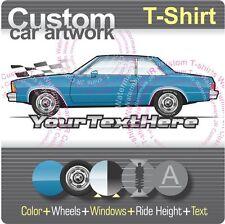 Custom T-shirt 78 1978 Chevy Chevrolet Malibu classic landau sport Coupe 5.0 V8