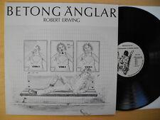 ROBERT ERWING Betongänglar LP 1982 rare Sweden private prog   Kaipa Mr Brown
