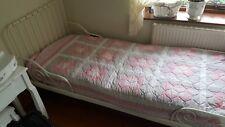 Ikea Minnen white metal child's/ kids adjustable bed