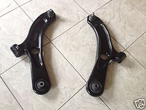SUZUKI SX 4  06-15 TWO FRONT LOWER WISHBONE SUSPENSION ARMS  LEFT AND RIGHT HAND