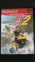 ATV Offroad Fury 2 (Sony PlayStation 2, 2002) PS2 Complete in Box CIB