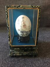 Hand Painted Egg Signed Chinese