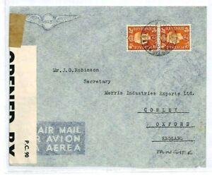 GB USED ABROAD Morocco Agencies Cover TANGIER 1940 WW2 Censor {samwells}CW156