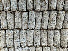 "24X White Sage Smudge Sticks / Wands 4"" to 5"" Negativity Removal Bulk Wholesale"