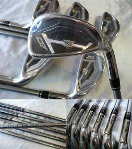 Golf iron set Wilson D7 Iron UST Mamiya recoil 460 Flex R 6pcs 5-P JAPAN