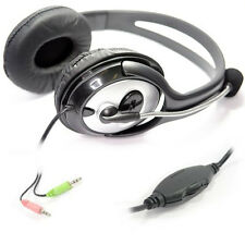 Computer PC Laptop GAMING Headphone Headset with Microphone Mic