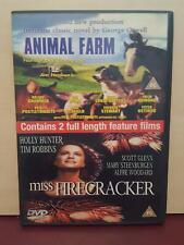 Animal Farm - Miss Firecracker - 2 Feature Films - DVD - J10