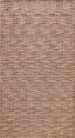 Geometric Modern Gabbeh Multi Level Pile Oriental Area Rug Hand-knotted Wool 5x8