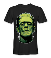 Frankenstein face movie t-shirt