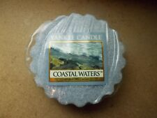Yankee Candle Rare Usa Deerfield Rare Coastal Waters Wax Tart--