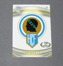 BLASON ECUSSON HERCULES C.F. ESPAGNE PANINI CARD MGK FOOTBALL LIGA 2007-2008