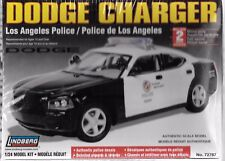 RARE Lindberg LAPD, Los Angeles Police Dodge Charger in 1/24 72787
