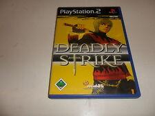 PlayStation 2 PS 2 Dames Strike