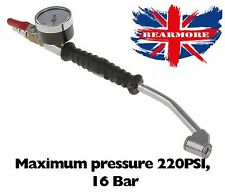 Air Pressure Gauge Car Motorbike Tire Compressor Inflator Monitor Shut Off valve
