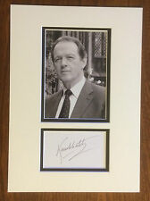 Hand Signed 14x10 KEVIN WHATELY - DETECTIVE INSPECTOR LEWIS + my COA