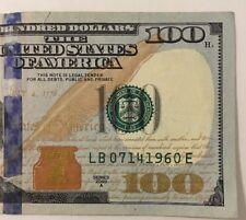 100 Dollar Bill Birthday Note Serial Date 07 14 1960