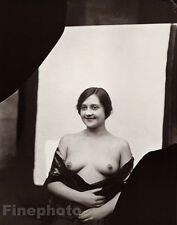1912 Vintage Female Nude Prostitute E.J. Bellocq New Orleans Louisiana Photo Art