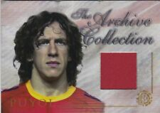 CARLES PUYOL BARCELONA SPAIN FUTERA 2004 ARCHIVE MATCH JERSEY CARD