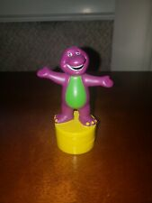"""Retired Rare Collectable Barney Stamper DecoPac cake 3.5"""""""