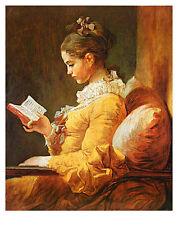 Jean-Honore Fragonard A Young Girl Reading Poster Kunstdruck Bild 71x56cm