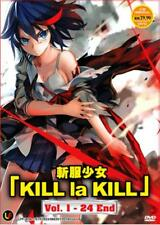 Kill La Kill Anime DVD - eps : 1 to 24 end (with English Dubbed)